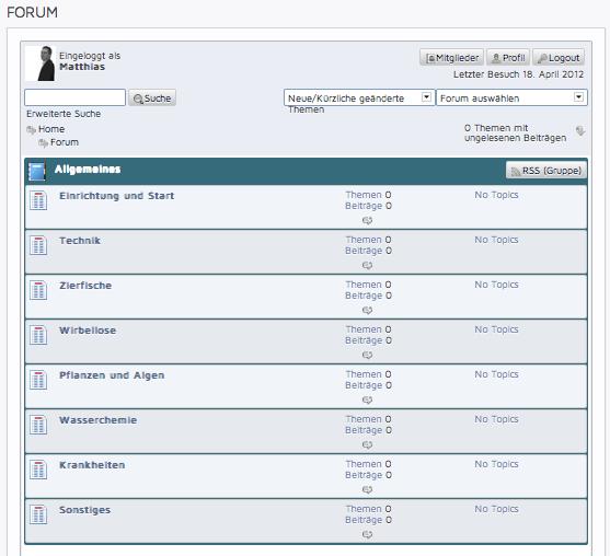 my-fish Forum ist ONLINE 1