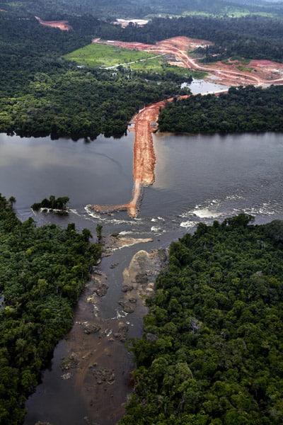 Stand zum Staudammprojekt am Rio Xingu 1