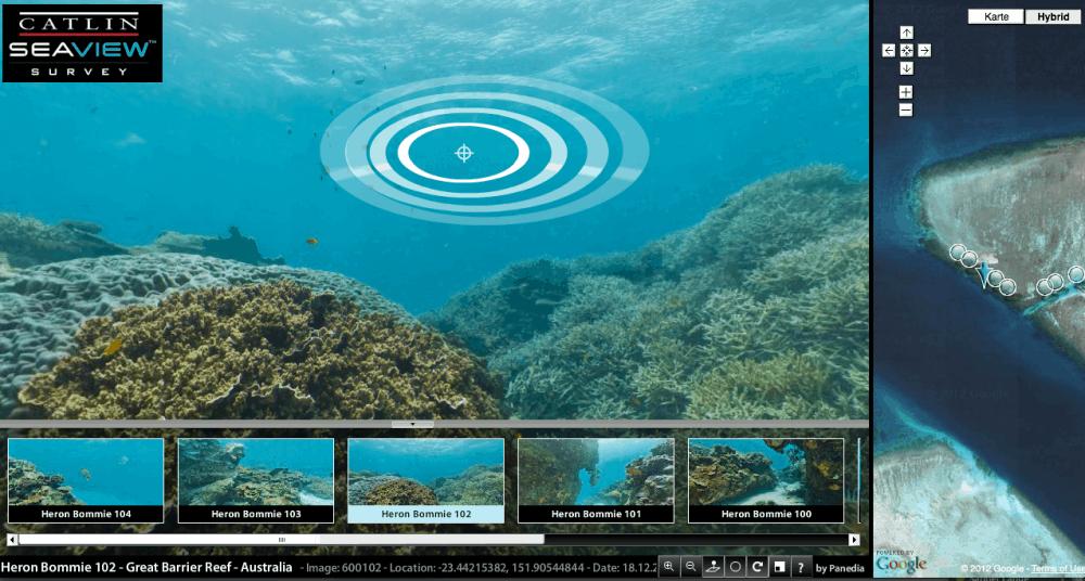 Digitales Mini Riff - Google Earth für Aquarianer 1