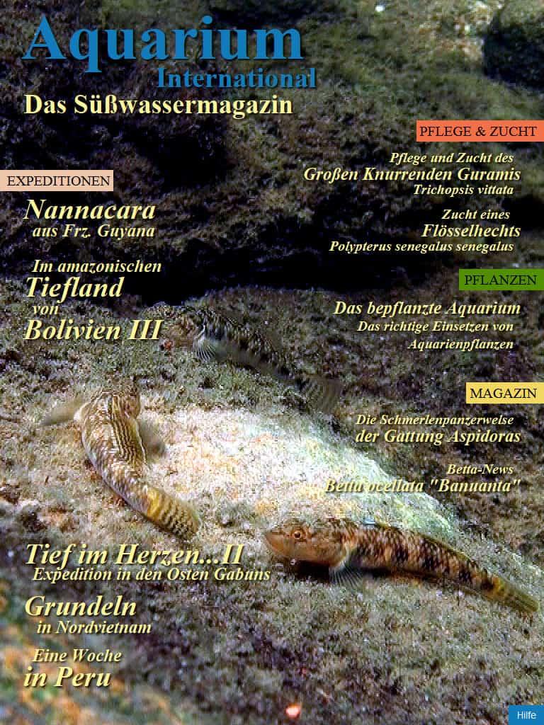 Aquarium International - APP und kostenlose Zeitschrift 1