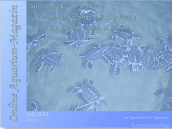 Neue Ausgabe des Online Aquarium-Magazin ist erschienen 1