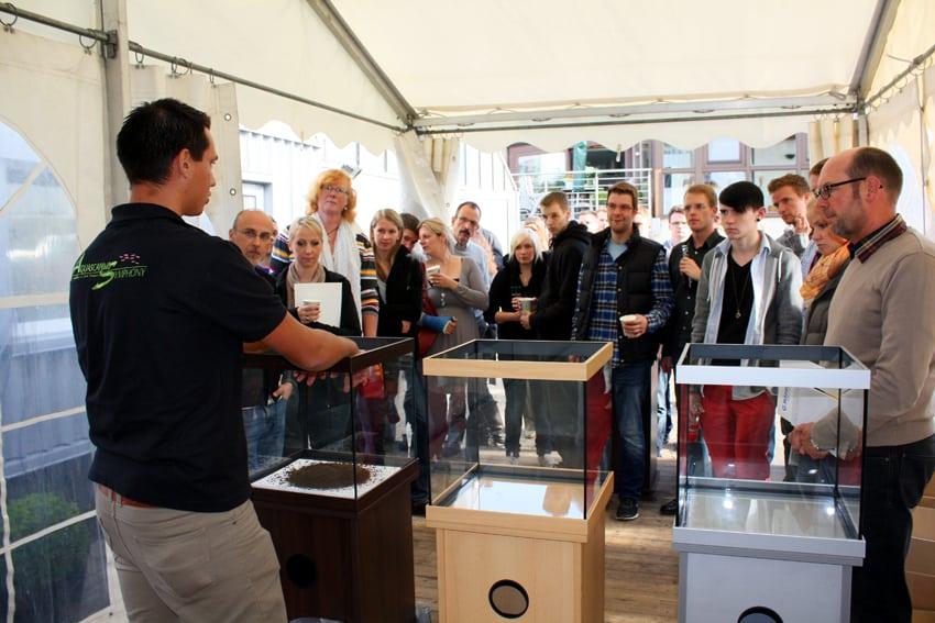 Zierfischgroßhandel G. Höner feiert 40-jähriges Betriebsjubiläum 2