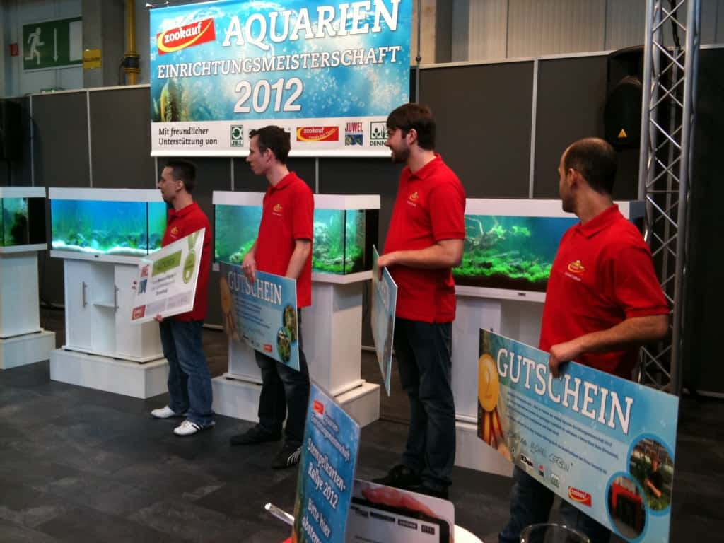 zookauf aquarien einrichtungsmeisterschaft 2012 strahlende gewinner und fantastische. Black Bedroom Furniture Sets. Home Design Ideas