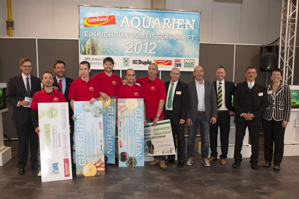 zookauf Aquarien-Einrichtungsmeisterschaft 2012: Strahlende Gewinner und fantastische Wettbewerbsbeiträge 1