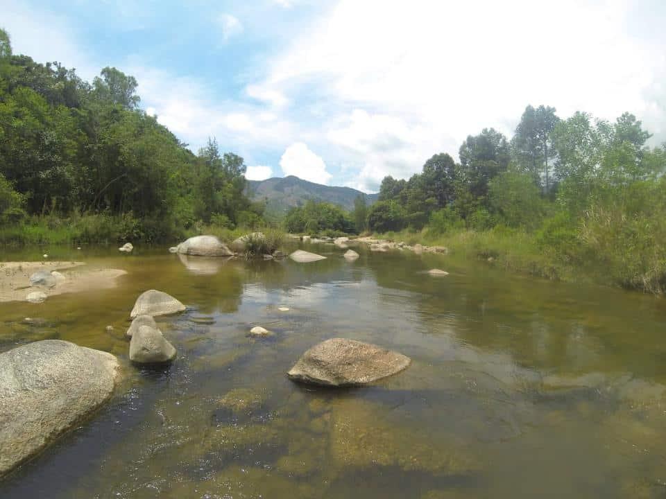 der erste Flussabschnitt