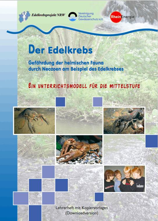Foto: Edelkrebsprojekt NRW - Mittelstufe
