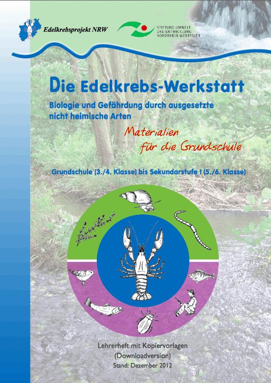 Foto: Edelkrebsprojekt NRW - Grundschule