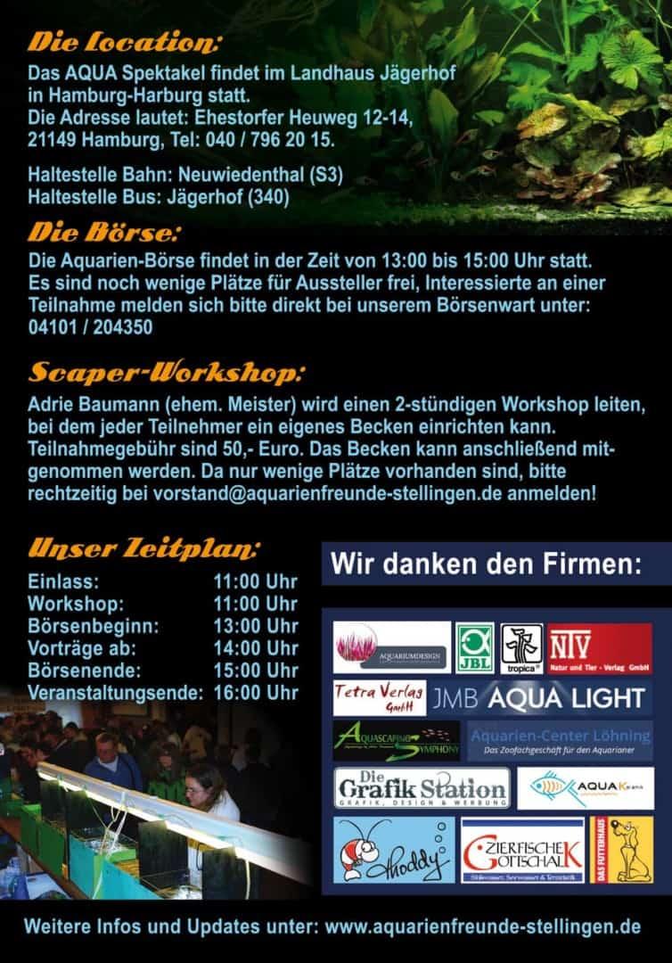 Das AQUA Spektakel am 01.03.2015 - Eine Veranstaltung in Hamburg 2