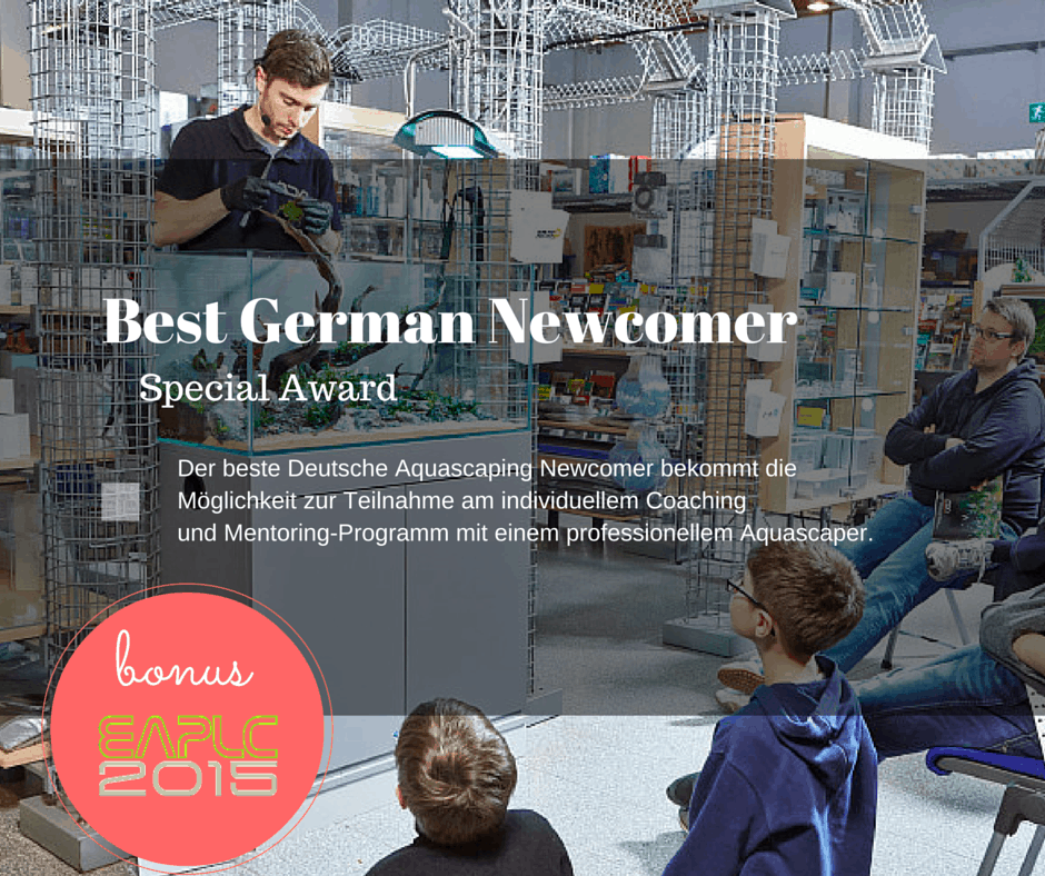 German Newcomer Special Award