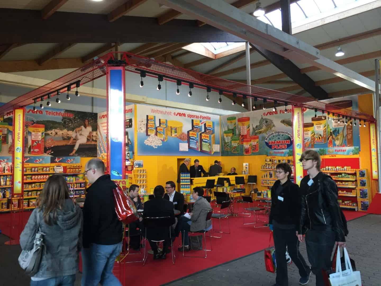 Mr.Fishy besuchte die Garten- & Zooevent in Kassel 3