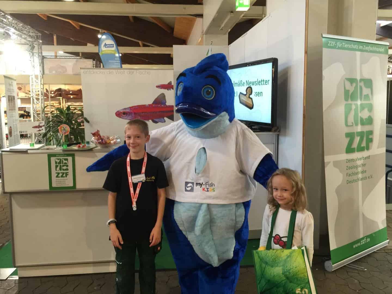 Mr.Fishy besuchte die Garten- & Zooevent in Kassel 16