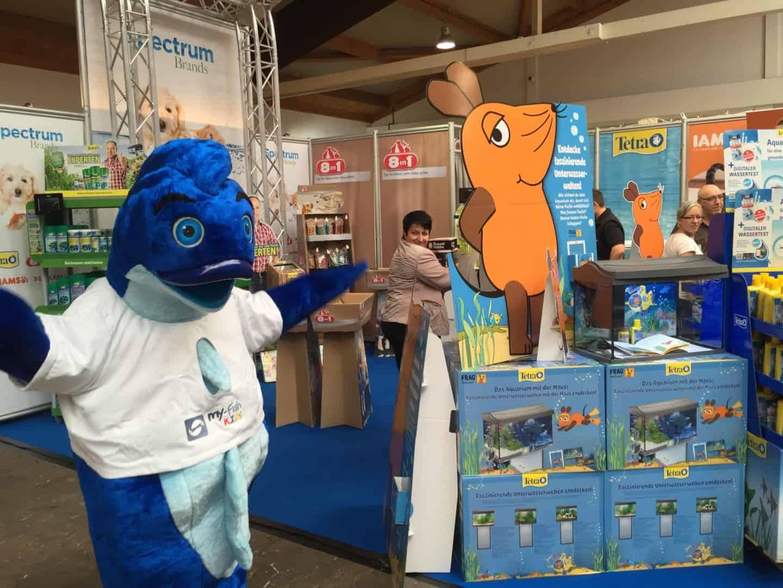Mr.Fishy besuchte die Garten- & Zooevent in Kassel 17