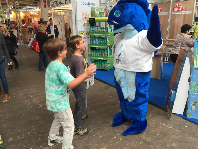 Mr.Fishy besuchte die Garten- & Zooevent in Kassel 18