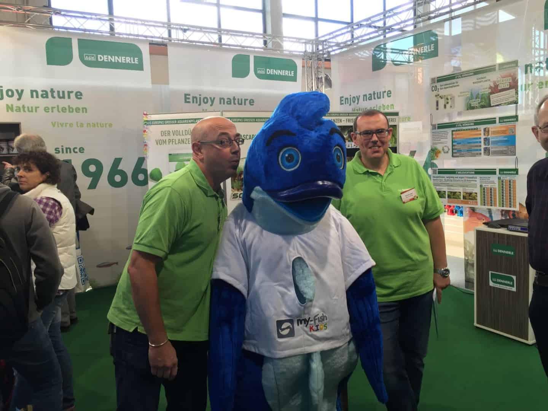 Mr.Fishy besuchte die Garten- & Zooevent in Kassel 25