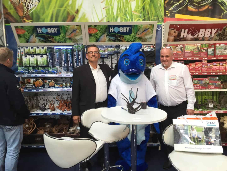 Mr.Fishy besuchte die Garten- & Zooevent in Kassel 26