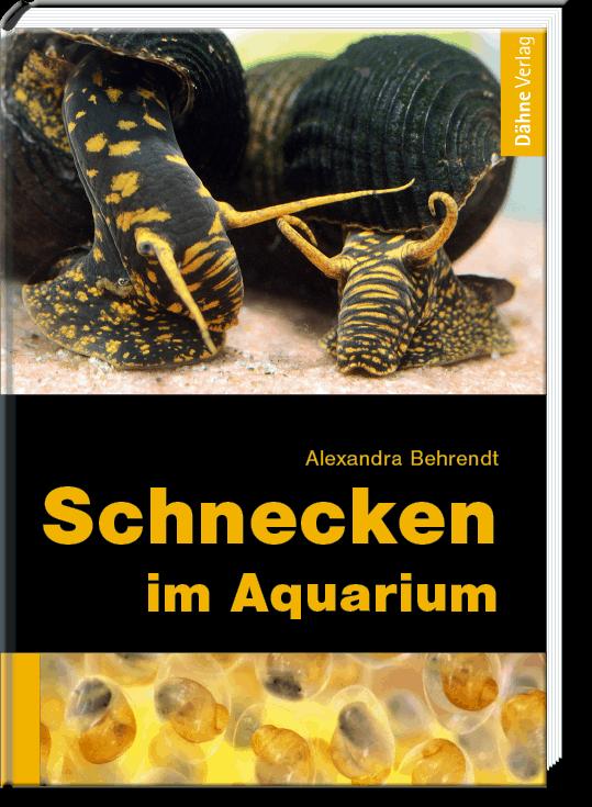 Schnecken im Süßwasser-Aquarium - Alexandra Behrendt Quelle: Dähne Verlag