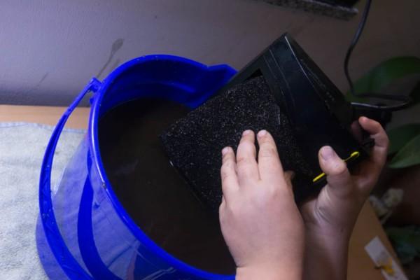 Filter reinigen Kids