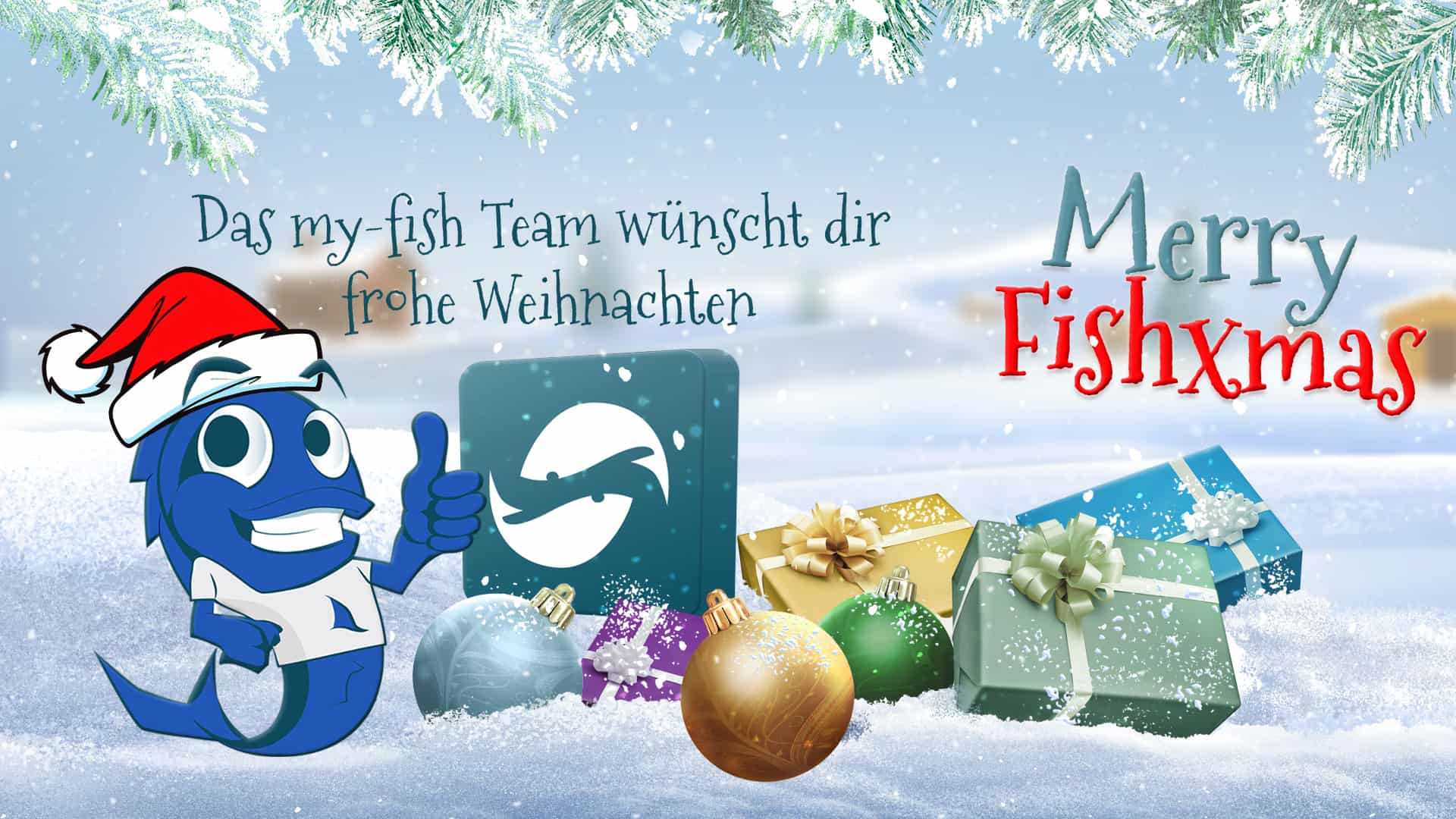 frohe weihnachten 2016 vom my fish team my fish aus. Black Bedroom Furniture Sets. Home Design Ideas