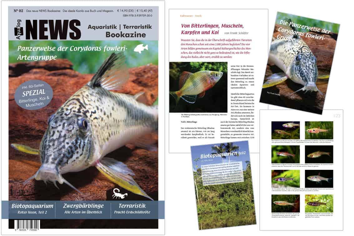 Aqualogs NEWS Bookazine Nr. 2 ist erschienen 1