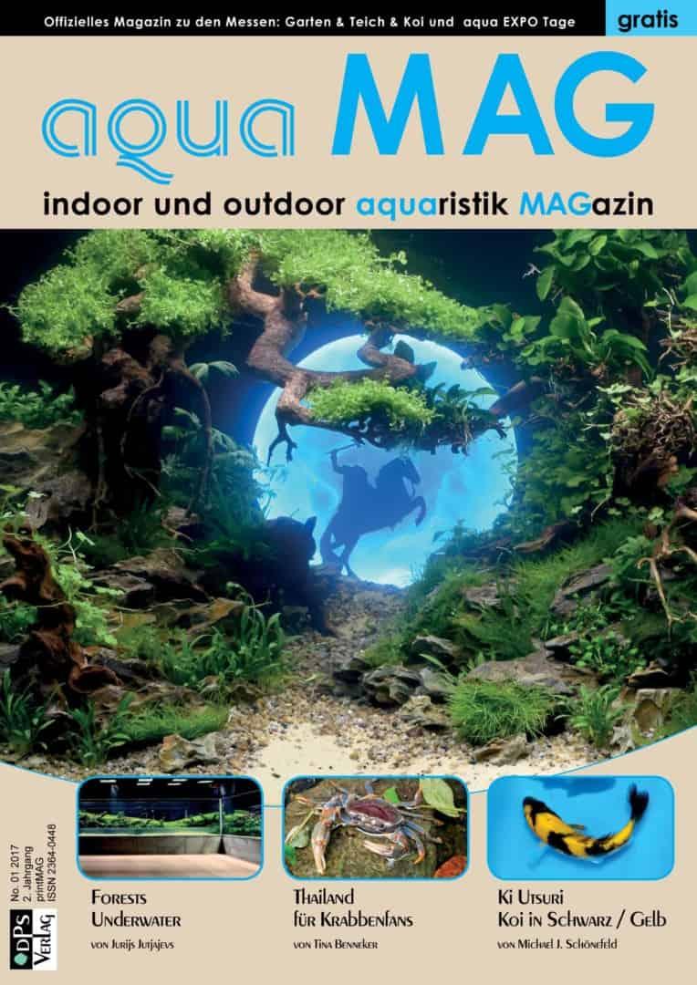 aqua MAG No 3 ist erschienen - Das Indoor und Outdoor Aquaristik MAGazin 1
