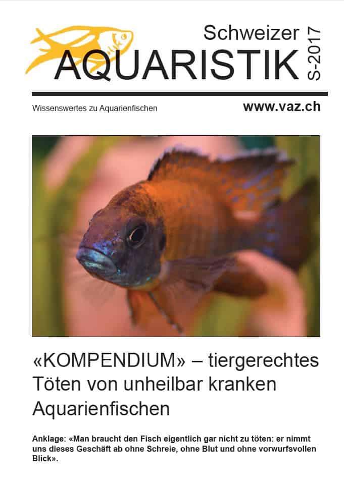Die Sondernummer der Schweizer Aquaristik (Kompendium) 1