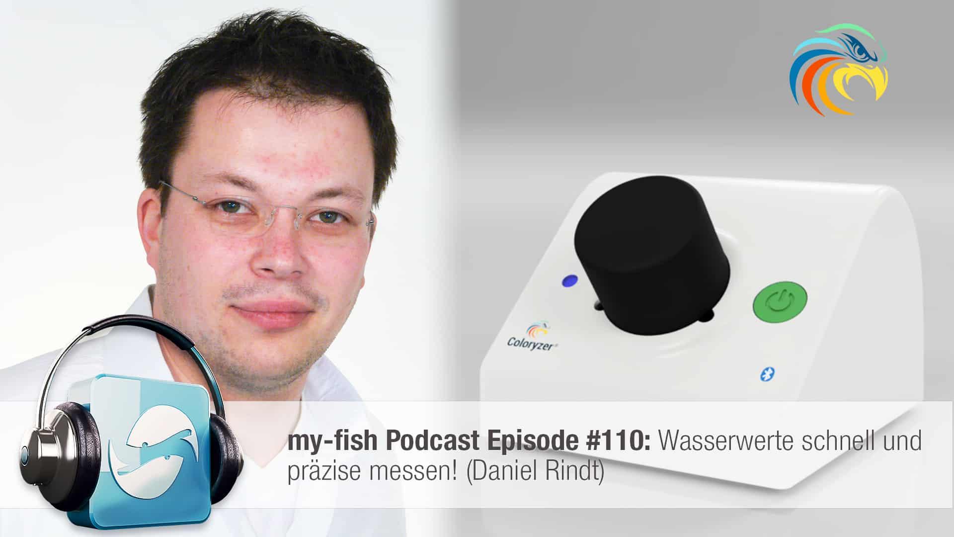 Podcast Episode #110: Wasserwerte schnell und präzise messen! (Daniel Rindt) 1