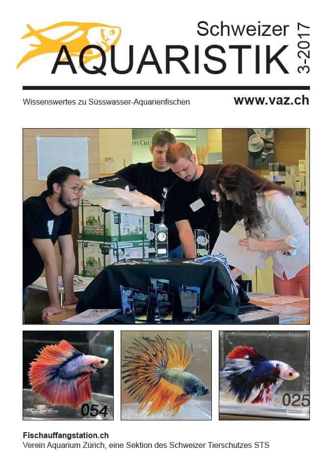 Themenheft Schweizer Aquaristik 3/2017 erschienen 1