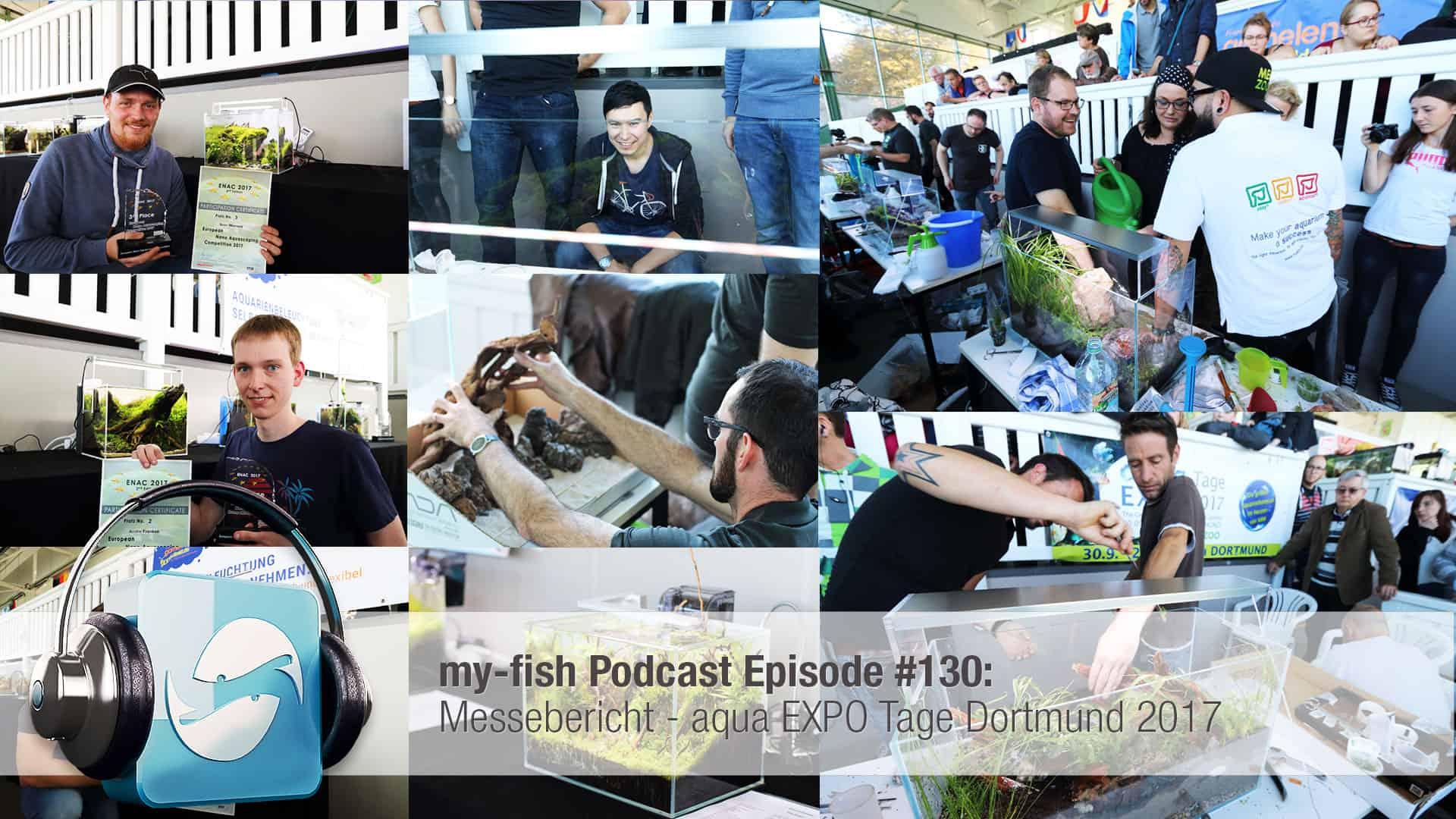Podcast Episode #130: Messebericht - aqua EXPO Tage Dortmund 2017 1