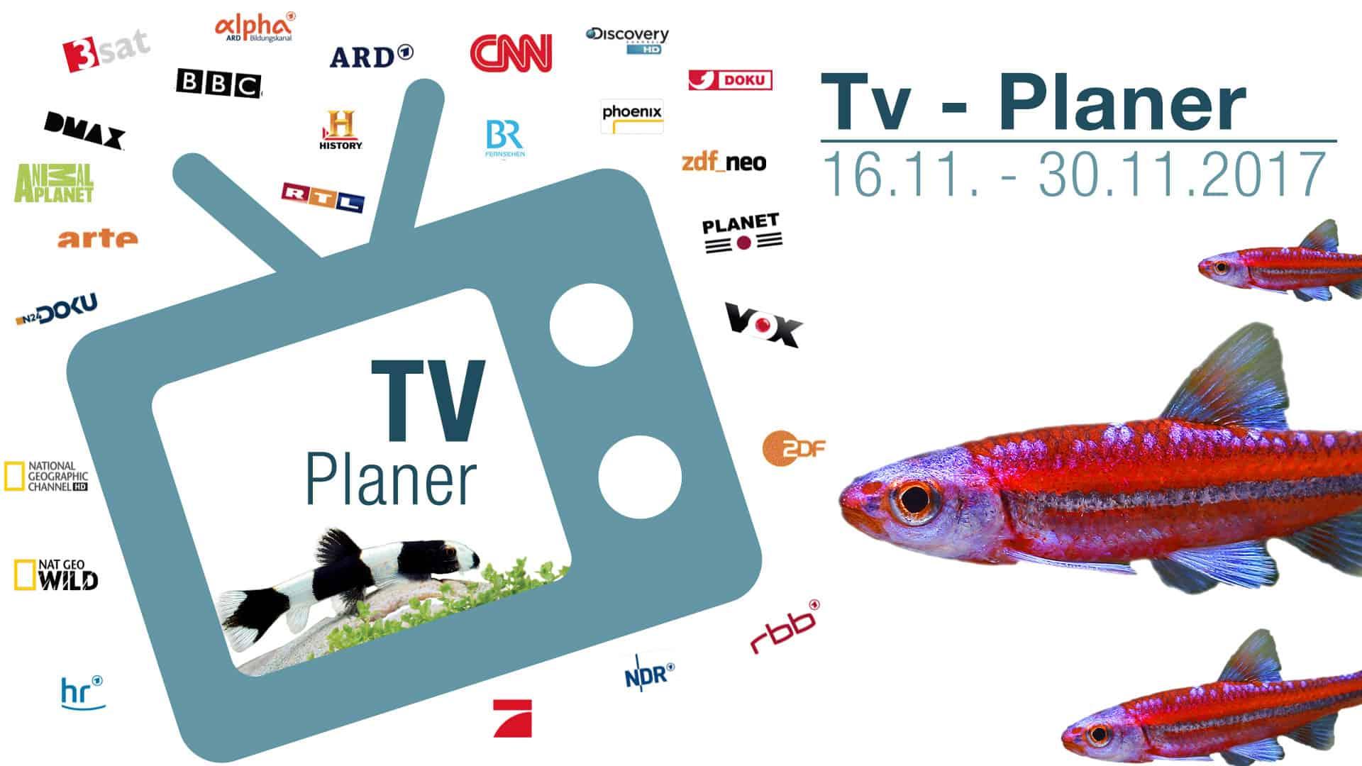 TV-Liste vom 16.11. - 30.11.2017 1