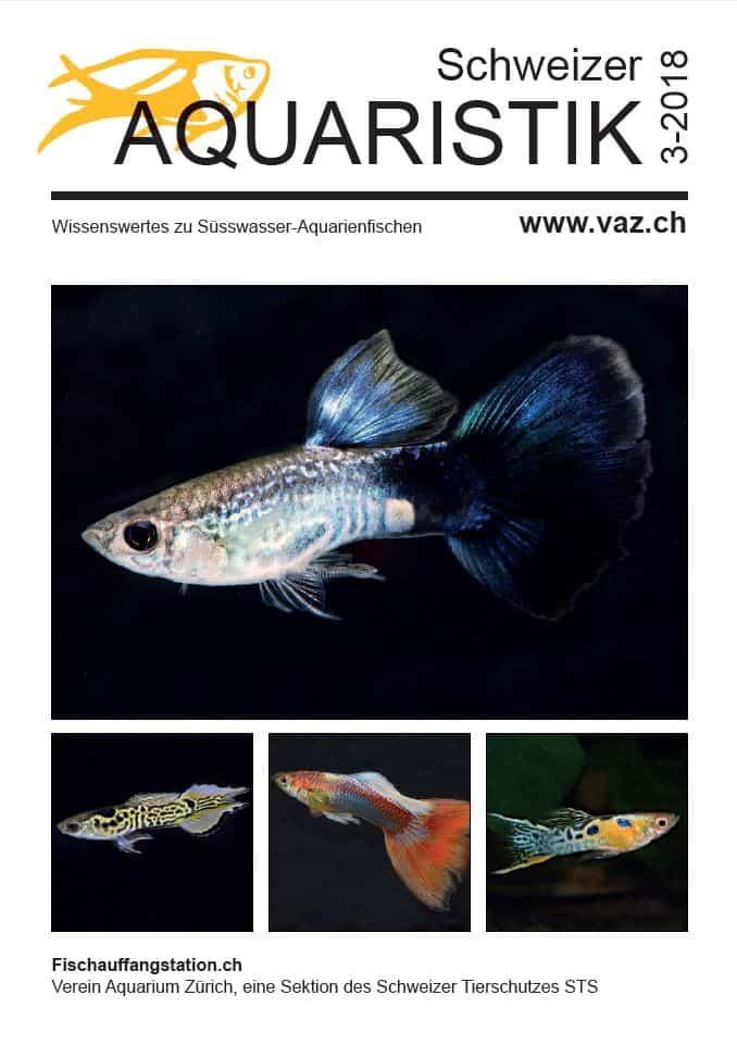 Vorschau: Themenheft Schweizer Aquaristik 3/2018 1