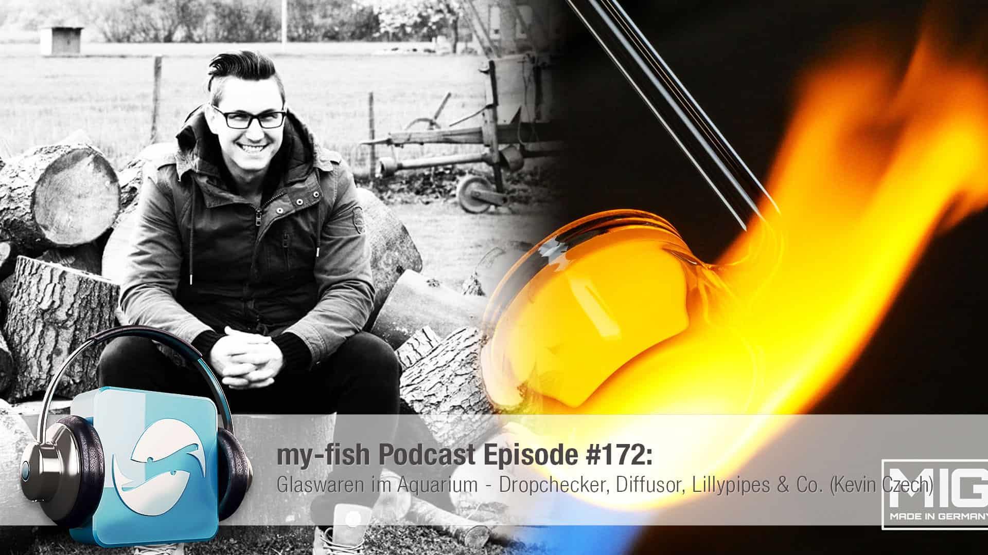 Podcast Episode #172: Glaswaren im Aquarium - Dropchecker, Diffusor, Lillypipes & Co. (Kevin Czech) 1