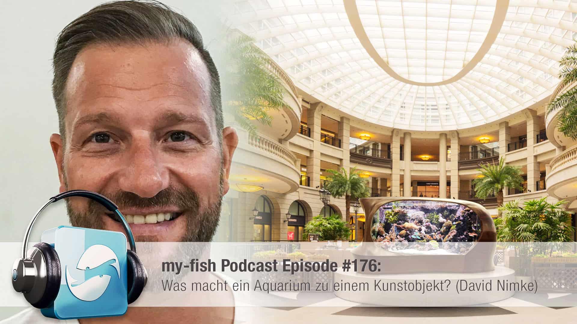 Podcast Episode #176: Was macht ein Aquarium zu einem Kunstobjekt? (David Nimke) 1