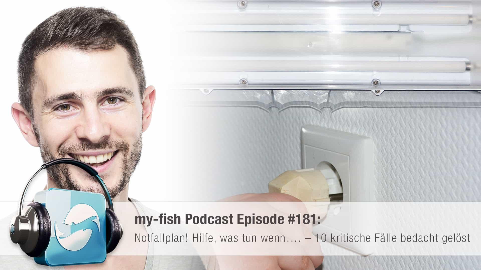 Podcast Episode #181: Notfallplan! Hilfe, was tun wenn…. – 10 kritische Fälle bedacht gelöst 1