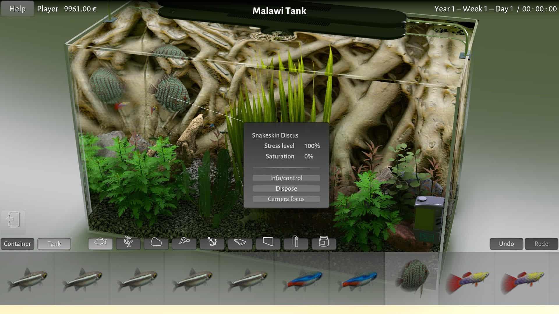 Early Access: Aquarium-Simulator Biotope 1