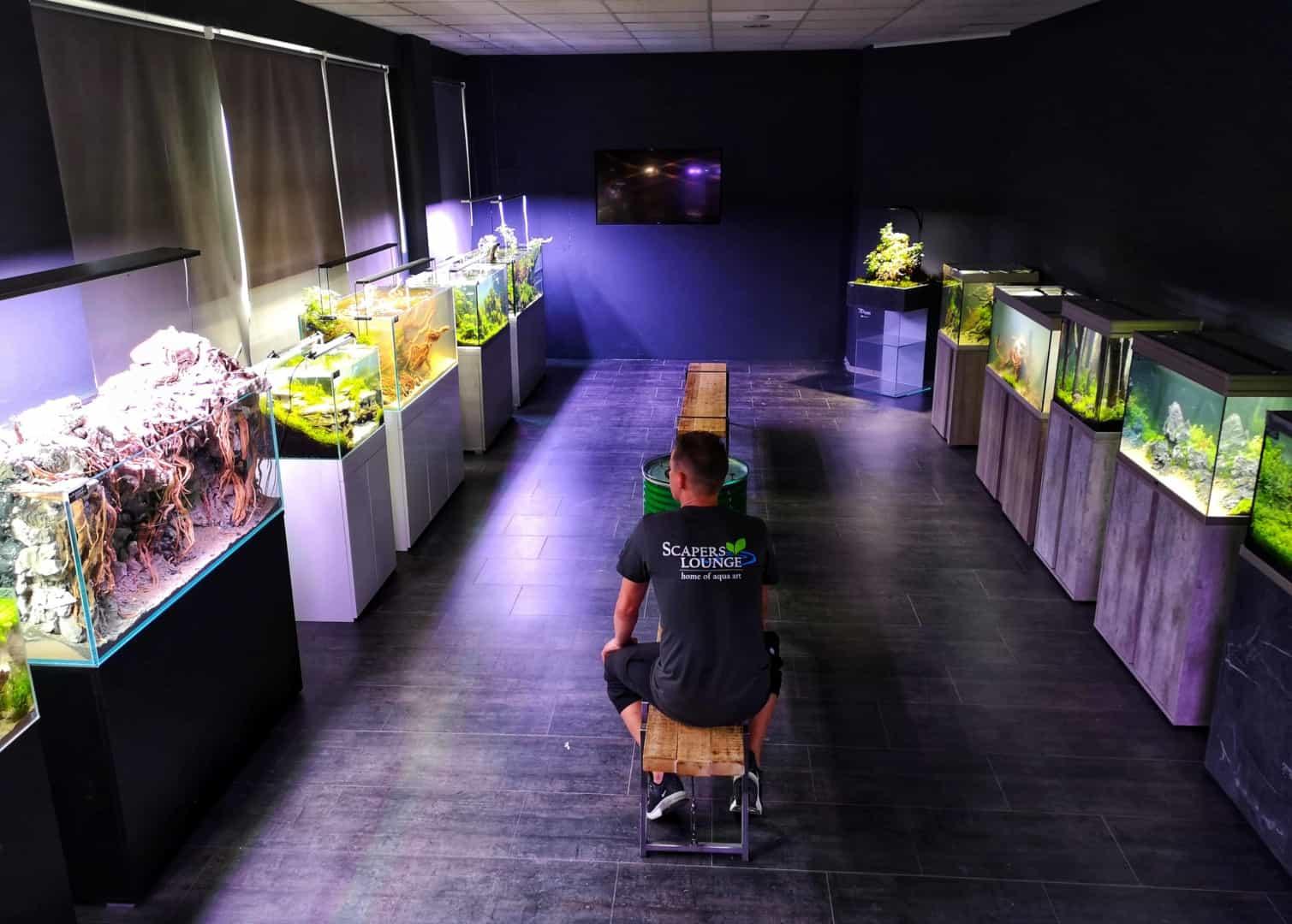 208 - Die Scapers Lounge - Neueröffnung des Mekkas für Naturaquarienliebhaber (Sascha Hoyer & Matthias Levy) 9