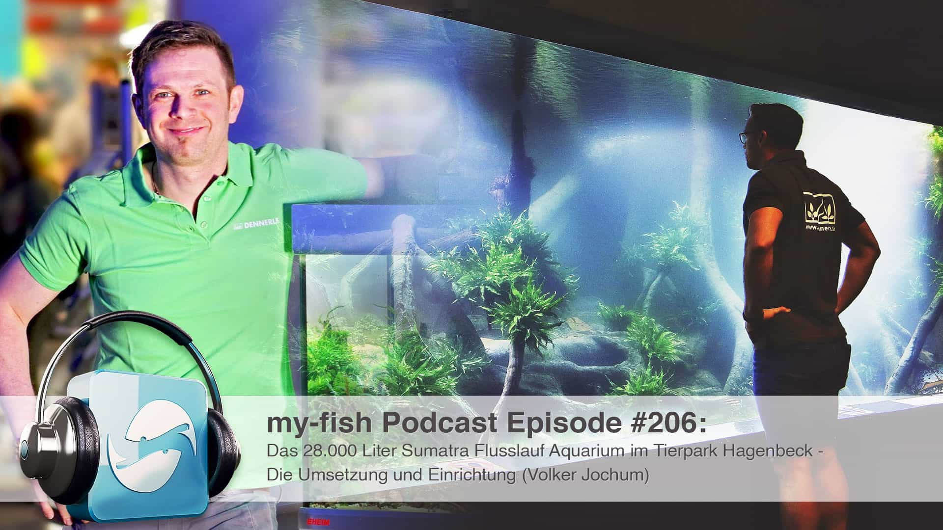 206 - Das 28.000 Liter Sumatra Flusslauf Aquarium im Tierpark Hagenbeck - Die Umsetzung und Einrichtung (Volker Jochum) 1