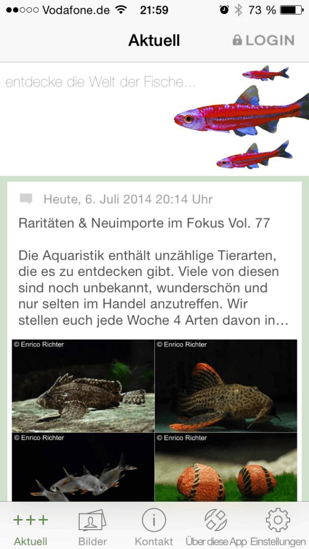 Die my-fish Smartphone APP 4