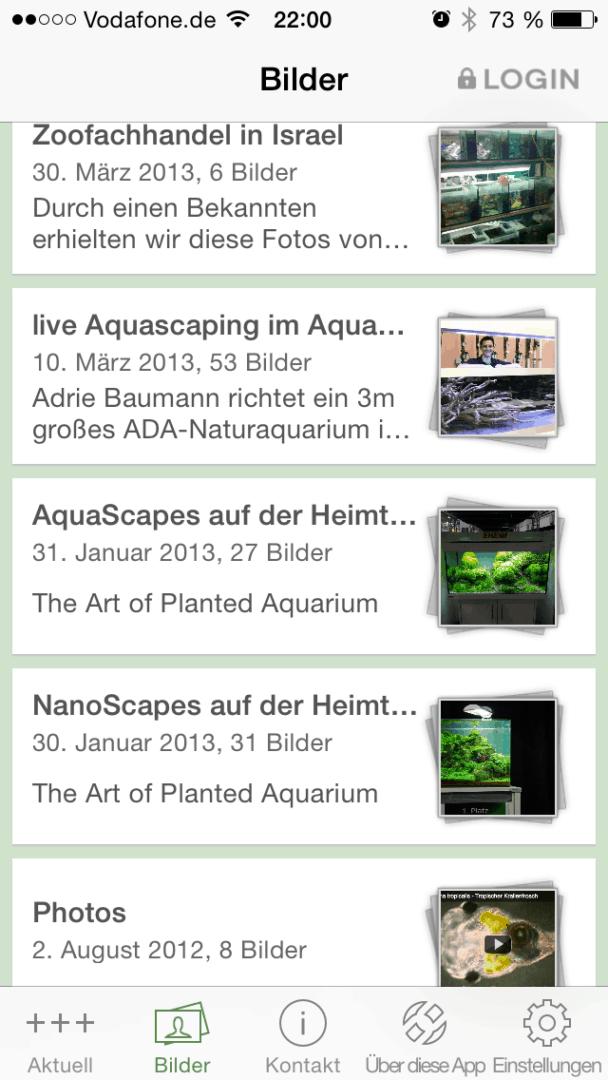 Die my-fish Smartphone APP 2