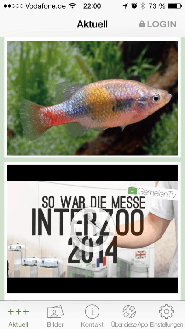Die my-fish Smartphone APP 7