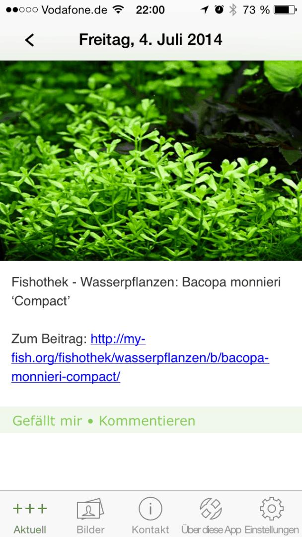 Die my-fish Smartphone APP 8