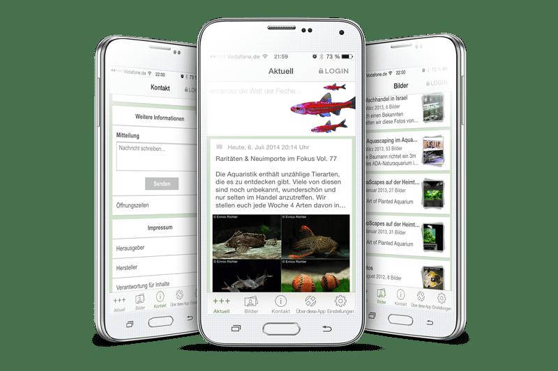 Die my-fish Smartphone APP 1