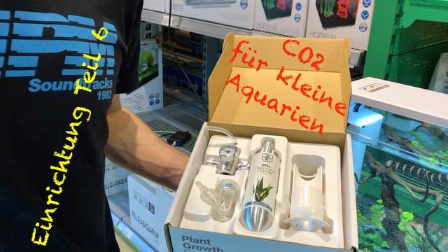 AQUaddicted! - Video Tipp: Eine Co2 Anlage für das kleine Aquarium - Einrichtungsserie Teil 6