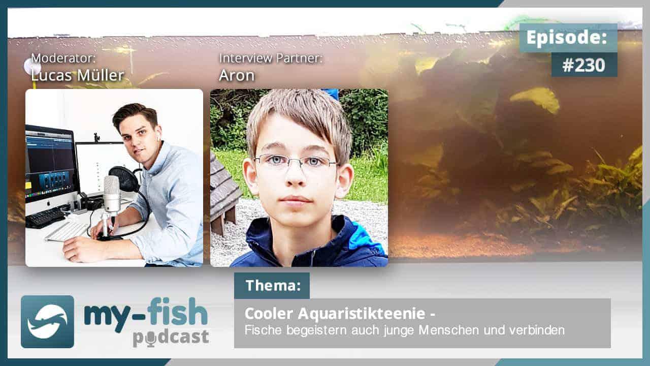 230: Cooler Aquaristikteenie - Fische begeistern auch junge Menschen und verbindet (Aron) 1