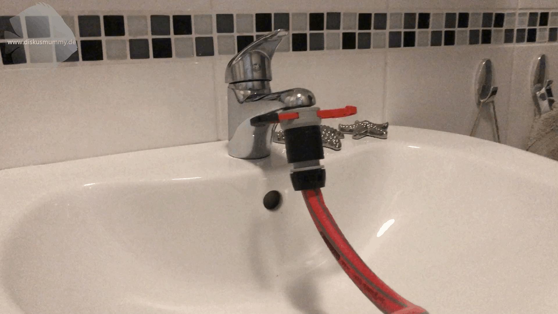 Wasserwechsel einmal anders! 5