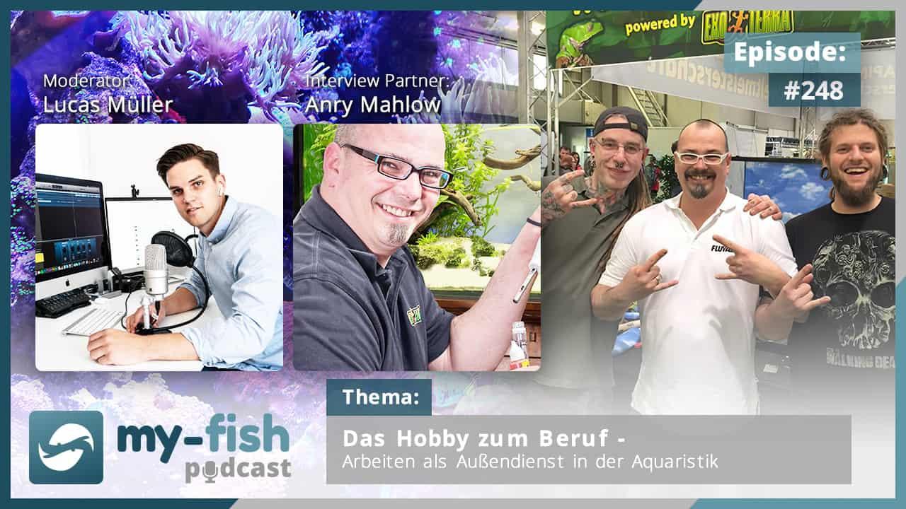 248: Das Hobby zum Beruf – Arbeiten als Außendienst in der Aquaristik (Anry Mahlow)