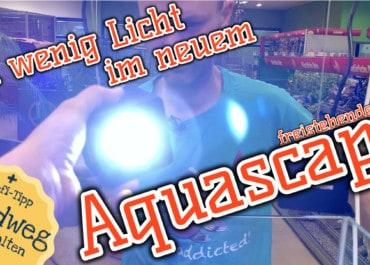 AQUaddicted! - Video Tipp: Licht für das freistehende Aquascape Teil 2