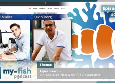 Podcast Episode #257: Aquameet - Ein Soziales Netzwerk für Aquarianer (Kevin Borg)