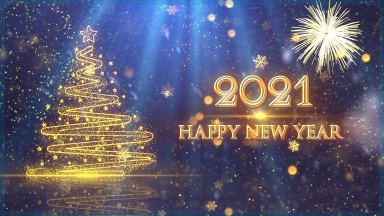 my-fish wünscht dir ein frohes neues Jahr 2021