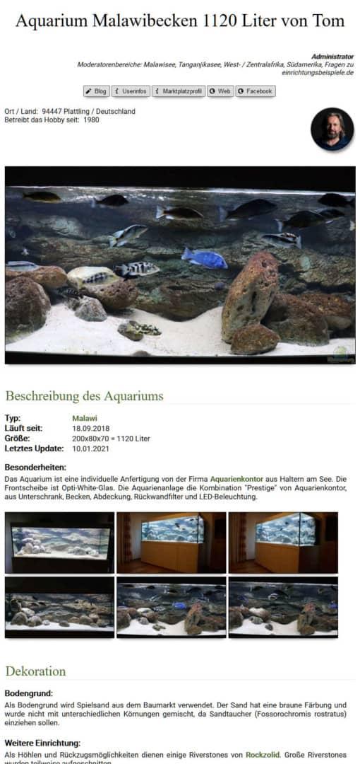 282: Einrichtungsbeispiele.de - Anregungen zum Aquariumeinrichten für Anfänger und Profis (Thomas Thammer) 4
