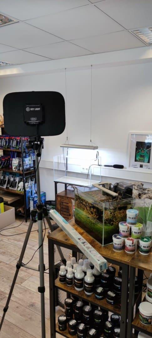 287: Live-Streaming in der Aquaristik - Gemeinsam ein Aquarium einrichten (Nature eScape & GarnelenTv) 10